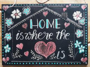 Tafel Home is where the Heart is